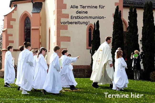 Erstkommuniontermine der nächsten Jahre